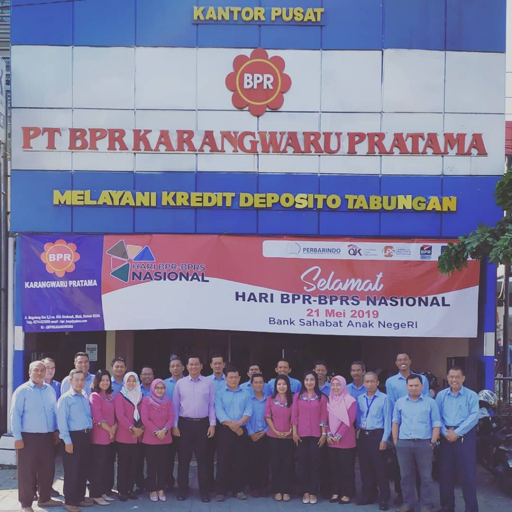 Halaman Depan BPR Karangwaru Pratama